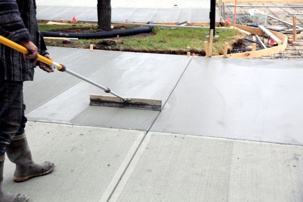 Concrete paving contractors serving Wisconsin